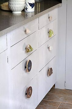 Wonder what you could do with your old rock collection?
