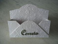 Porta carta - www.elo7.com.br/esterartes