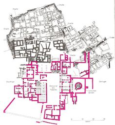 Map of Zakros