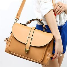 L.WEST® Women'S High-quality Casual Fashion Shoulder Messenger Large Capacity Bag 4451100 2016 – $14.99