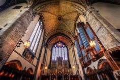 Rockefeller Chapel at the University of Chicago