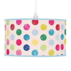 retro polka dots pattern Pendant Lamp