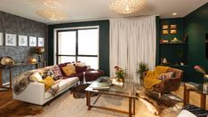 Dorable Living Rooms Mold,Living Rooms The Block Nz Where To Shop For Everything From The Living Room Reveals, Neutral Living Room Furniture, Living Room Colors, The Block Nz, Decorating Your Home, Interior Decorating, Inside Home, Room Color Schemes, Leather Sofa, Living Spaces