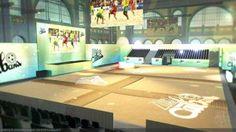 Fussball WM 2014 - Public Viewing in Zürich, Basel, Bern, Luzern Basel, Cabana, Basketball Court, Public, Lucerne, Switzerland, Cabanas, Gazebo