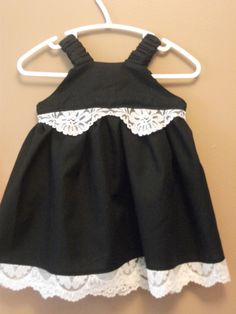 baby Natalie's little black dress...let's face it, every girl needs a little black dress!  ;)