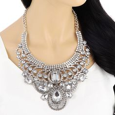 Water Drop Shape Decorated Hollow Out Design | Kalung Fashion | CMD by Mirna | US$ 13