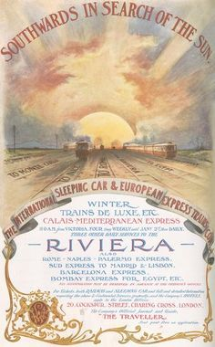 Advert for Riviera Travel