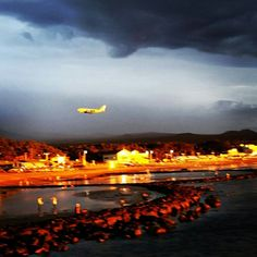 Jeju airport in Dodu port
