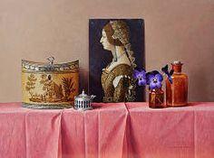 Bianca Maria Sforza | stilleven schilderij in olieverf van Ingrid Smuling | Exclusieve kunst online te koop in de webshop van Galerie Wildevuur