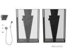 ShinoKCR's Art Deco Bathroom - Shower