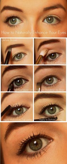 How to naturally enhance your eyes - no more harsh black lines
