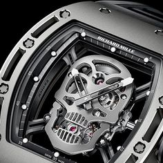 Richard Mille RM 052 Tourbillon Skull #Halloween  #RichardMille #RM052 #tourbillon #sports #online #chrono24 #watches #watch #watchporn #watchcolllector #watchesofinstagram #richkids #tokyo #london #dubai #hattongarden #luxury #montres #igwatches #picoftheday #discount #cartier #hublot #rolex by montres_
