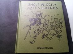 Vintage 1955 Reprint of 1939 Uncle Wiggly by TattooedSistersAntiq