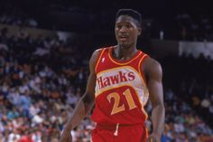 41. Dominique Wilkins in Red