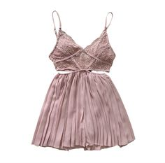 19f3e050fc4d European Style Pleated Chiffon Suspender Playsuits Hollow Out Backless Sexy  Beach Jumpsuits Deep V-neck