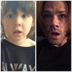 Jared and Tom Padalecki - like father like son
