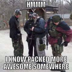 I know I packed more awesome