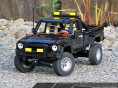 Lego MOC: Toyota Hilux (Back to the Future style) | by Big Cat Boy