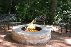 DIY Fire Pit Ideas | This DIY fire pit goes perfectly with a cup of hot cocoa >> http ...