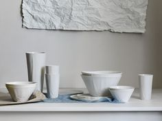 The Paper Series by Hayden Youlley is a stunning, simplistic set of crockery. My absolute favorite at the moment