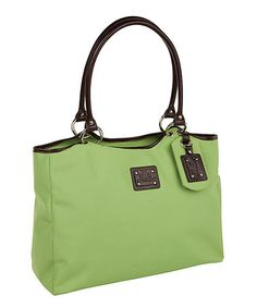 Take a look at this Highland Green Margaret Tote by Rowallan on #zulily today! $59 !!