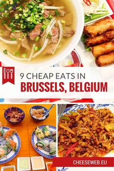 If you love to eat tasty, healthy food but are on a tight budget, you'll love our selection of 9 cheap eats in some of the best restaurants in Brussels, Belgium.
