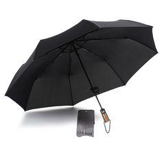 White Marble Rose Gold fashion print cute Windproof automatic tri-fold umbrella sun UV protection Sun umbrella