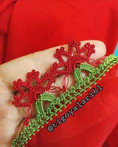 Fotoğraf açıklaması yok. Irish Crochet, Free Crochet, Baby Knitting Patterns, Crochet Patterns, Saree Kuchu Designs, Embroidery On Clothes, Needle Lace, Crochet Designs, Christmas Fun