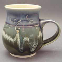 porcelain mug.  www.ragingbowlpottery.com |Pinned from PinTo for iPad|