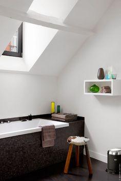 attic bathroom #bathroom