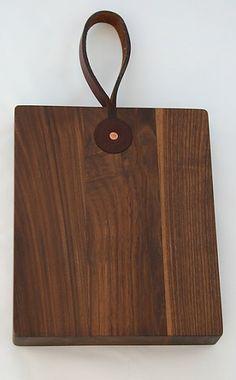 Lostine Walnut Square Bread Board