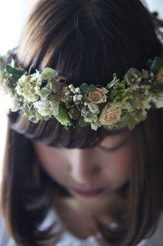 Floral Halo Angel