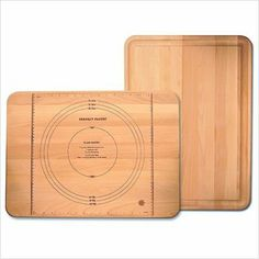 Catskill Craftsmen 22-Inch Perfect Pastry Cutting Board with Rounded Corners and Reverse Groove by Catskill Craftsmen. $29.99. Reversible - Juice Groove on one side. Flat Grain with Oiled Finish. Dimensions: 22 Inches Wide by 16 Inches Deep by-3/4 Inches Thick. Made in the USA. Perfect Pastry Brand on opposite side. Products offered by Catskill Craftsmen are made from naturally self-sustaining, non-endangered North American hardwoods, primarily birch and hard ...
