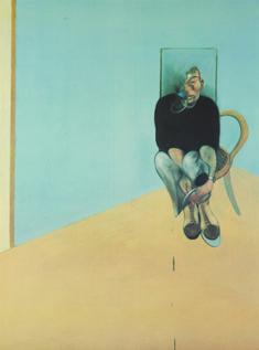 Francis Bacon, Study for Self Portrait 1982, 1984, Marlborough Gallery