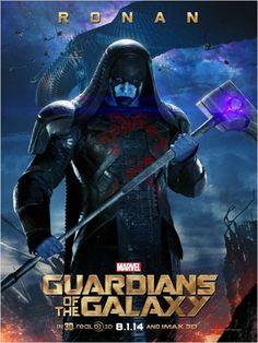 Les Gardiens de la Galaxie : Affiche Lee Pace