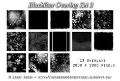 Shadowhouse Creations: BlackBox Overlay Set 2