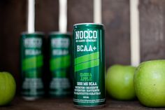 NOCCO Apple | NOCCO BCAA | No carbs company | Fitness Lifestyle | Jadeyolanda.fi Body Fitness, Energy Drinks, Red Bull, Beverages, Bikini, Apple, Canning, Lifestyle, Food