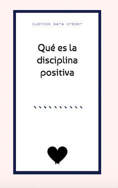 Qué es la disciplina positiva y qué puede aportarte.  #disciplinapositiva #positivediscipline #enpositivo #crianzarespetuosa #crianzaconapego Mindfulness For Kids, Montessori Baby, Happy Kids, Counseling, Student, Concept, Activities, Education, School