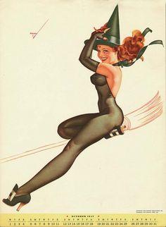 Curvy Pin-up by George Petty   Trendland: Fashion Blog