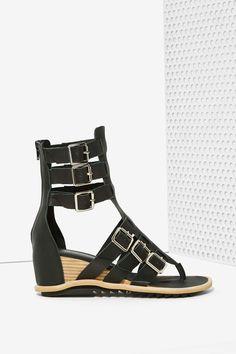 Jeffrey Campbell Nador Leather Gladiator Sandals