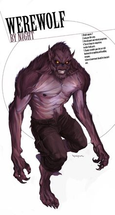 Werewolf by Night by Marko Djurdjevic