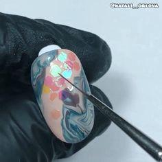 Rose Nail Art, Gel Nail Art, Nail Art Diy, Diy Nails, Swag Nails, Nail Art Designs Videos, Nail Design Video, Nail Art Videos, Beauty Hacks Nails