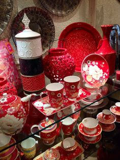 Maxwell Williams Red Color, Color Pop, Colour, Cutlery, Kitchenware, Punch Bowls, Color Splash, Tablescapes, Tea Time