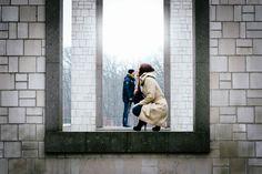 Spielerei mit Perspektive. Paarshooting in Rheine/Westfalen  Röhricht Wedding Photography - Hochzeitsfotograf aus Stade bei Hamburg