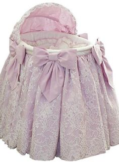 Luxury Lilac Bassinet