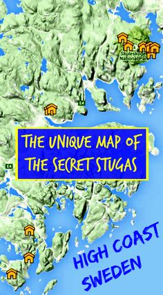 The only map on the net showing Sweden's hidden cabins which can be used free of charge by hikers. Click on the pin to find the coordinates and corresponding pictures. Get inspired, gear up and discover Sweden most beautiful hiking trail!
