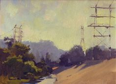 Plein Air Paintings by Antrese Wood, via Behance