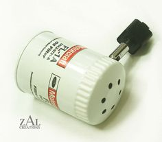 Accesorio de iluminación de pista filtro de aceite por ZALcreations
