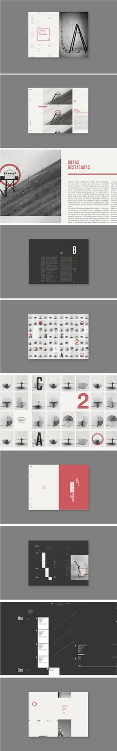 Rebecca Horn - Pressbook by Flav Santoro, via Behance