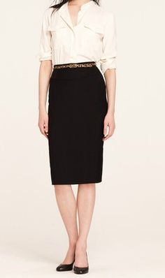teacher clothes- need black pencil skirt
